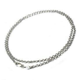 クロムハーツ(Chrome Hearts)ネックレス・チェーン・ロールチェーン24インチ(約60cm)