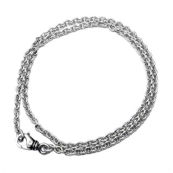 クロムハーツ(Chrome Hearts)ネックレス・チェーン・NEチェーン20インチ(約50cm)