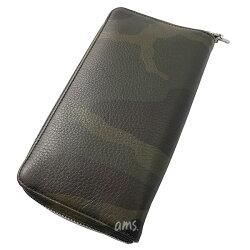 クロムハーツ財布(ChromeHearts)ウォレットRECFZIP#2セメタリークロスパッチw/タイニーCHクロスブラックヘビーレザー(長財布)