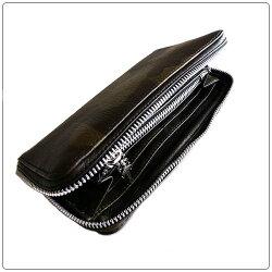 クロムハーツ財布(ChromeHearts)ウォレットREC・F・ZIP#2・プレーン・タンクカモ・レザー(長財布)