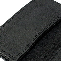 クロムハーツ・財布(Chrome・Hearts)カードケース#2・GRMT/スクロールブラック・ヘビーレザーウォレット(メンズ)(クロム・ハーツ)(長財布)