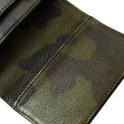 クロムハーツ財布(ChromeHearts)カードケースV13ポケットCHスクロールタンク・ヘビーレザー(送料無料)(メンズ)(クロム・ハーツ)(長財布)
