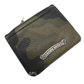 クロムハーツ 財布(Chrome Hearts)ジッパーチェンジパース3×4・タンクカモミディアム・レザー(メンズ)(クロム・ハーツ)(長財布)