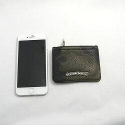 クロムハーツ財布(ChromeHearts)ジッパーチェンジパース3×4・タンクカモミディアム・レザー(メンズ)(クロム・ハーツ)(長財布)