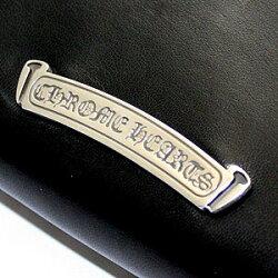 クロムハーツ財布(ChromeHearts)REC・F・ZIP#2・ピラミッドコーナー・ボックスクロスブラック・ライトレザー・ウォレット(メンズ)(クロム・ハーツ)(長財布)