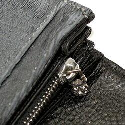 クロムハーツ財布(ChromeHearts)ジュディ・ブルーグレー・レーザード(メンズ)(長財布)
