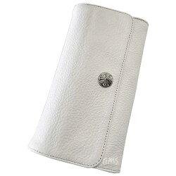 クロムハーツ・財布(Chrome・Hearts)ジュディ・ブラック・ヘビーレザー・(メンズ)(クロム・ハーツ)(長財布)