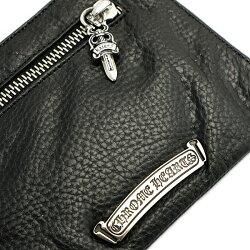 クロムハーツ財布(ChromeHearts)2サイドジップウォレット3クロスパッチーズ(メンズ)(クロム・ハーツ)(長財布)