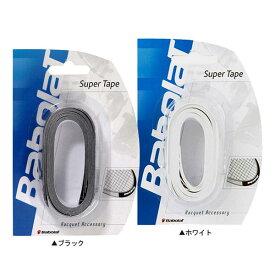14日19時から5時間限定10%OFFクーポン】バボラ スーパーテープ 710020 ホワイト/ブラック【5回分】 (Babolat Super Tape Head Tape )ヘッドテープ (フレーム保護テープ)[次回使えるクーポンプレゼント]