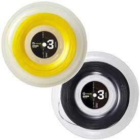 17日から22日まで松竹梅クーポン】ゴーセン(GOSEN) ジーツアー 3 (G-TOUR 3) 220Mロール [1.18mm(17LGA)/1.23mm(17GA)/1.28(16LGA) ] 硬式テニス ポリエステルガット(17y9m)[次回使えるクーポンプレゼント]