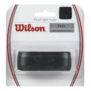 ウィルソン(Wilson) フェザーシン リプレイスメントグリップ ブラック WRZ4204BK(1812)[次回使えるクーポンプレゼント]