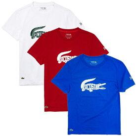 「ノバク・ジョコビッチ」「海外サイズ」ラコステ(Lacoste) 2021 FW メンズ スポーツ クロコダイルグラフィック 半袖Tシャツ TH6907(21y9mテニス)[次回使えるクーポンプレゼント]