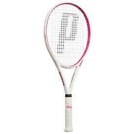 18日0時から72時間限定クーポン】[新入生にもおすすめ!]プリンス(Prince) シエラ 100 (270g) ホワイト×マゼンタ 国内正規品 硬式テニスラケット 7TJ072(19y3m)[AC][次回使えるクーポンプレゼント]