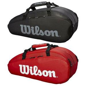 [6本収納]ウィルソン(Wilson) TOUR 2 COMP SMALL ラケットバッグ WRZ847909/WRZ849306(19y3m)[次回使えるクーポンプレゼント]