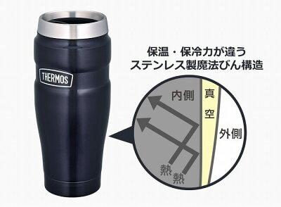 サーモス(THERMOS)真空断熱タンブラー0.47LROD-001(19y3m)