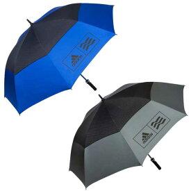 [21日20時から4時間限定タイムセールクーポン][ゴルフ]アディダス(adidas) ダブルキャノピー UV アンブレラ 604364(19y3m)パラソル かさ 日傘 [次回使えるクーポンプレゼント]