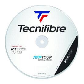 17日から22日まで松竹梅クーポン】テクニファイバー(Tecnifibre) ICE CODE アイスコード (1.20/1.25/1.30) 200Mロール 硬式テニス ポリエステルガット (19y5m)