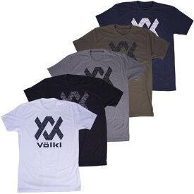 [USサイズ]フォルクル(Volkl) メンズ スタック Tシャツ V88401/V88402/V88403/V88404/V88405(19y4mテニス)[次回使えるクーポンプレゼント]