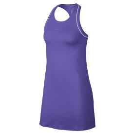 [USサイズ]ナイキ(NIKE) 2019 FA レディース コート Dri-FIT ドレス 939308-550サイキックパープル×ホワイト(19y6mテニス)[次回使えるクーポンプレゼント]