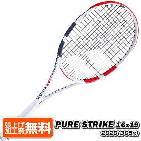 22日19時からハロウィンクーポン】バボラ(Babolat) 2020 ピュアストライク16x19(305g) Pure Strike16x19 海外正規品 硬式テニスラケット 101406-323(19y8m)[NC]