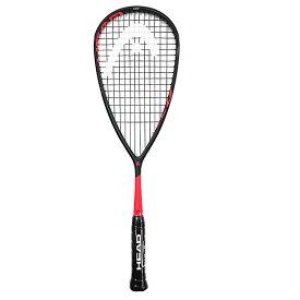 ヘッド(HEAD) グラフィン 360 スピード 135 (135g) 海外正規品 スカッシュラケット 211029-ブラック×レッド(19y7m)[AC][次回使えるクーポンプレゼント]
