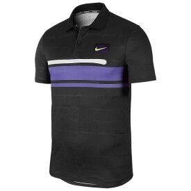 [USサイズ]ナイキ(NIKE) 2019 FA メンズ アドバンテージ NY(ニューヨーク) ポロシャツ AT4158-045オフノアール×サイキックパープル(19y9mテニス)[次回使えるクーポンプレゼント]