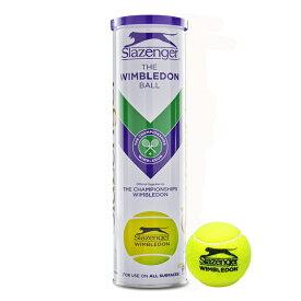 Slazenger(スラセンジャー) ウインブルドンボール 1缶4球入り 硬式テニスボール (19y7m)[次回使えるクーポンプレゼント]