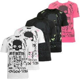 [海外サイズ]ハイドロゲン(HYDROGEN) 2019 メンズ グラフィティ Tシャツ T00130(19y12mテニス)[次回使えるクーポンプレゼント]