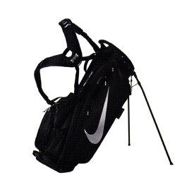 ナイキ(NIKE) エアスポーツ スタンドキャディバッグ ゴルフバッグ GF3002-072ブラック×メタリックシルバー(20y1m)[次回使えるクーポンプレゼント]