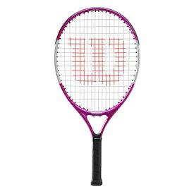 ウィルソン(Wilson) ウルトラピンク 23 (193g) 海外正規品 硬式ジュニアテニスラケット WR027910(20y1m)[NC][次回使えるクーポンプレゼント]