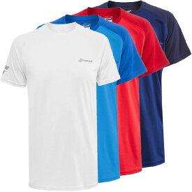 バボラ(Babolat) 2020 ジュニア(ボーイズ) PLAY(プレー) クルーネックTシャツ 3BP1011(20y2mテニス)[次回使えるクーポンプレゼント]