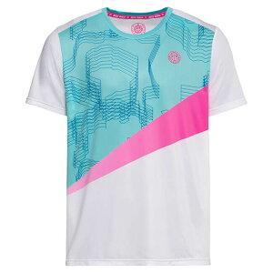 BIDI BADU(ビディバドゥ) 2020 SS ジュニア(ボーイズ) アコファ(Akofa) テック Tシャツ B369002201-WHMTPKホワイト×ミント×ピンク(20y1mテニス)[次回使えるクーポンプレゼント]
