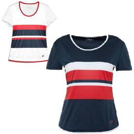 5日24時間限定11%OFFクーポン】フィラ(FILA) 2019 SS ジュニア(ガールズ) サミラ(ガールズ) トップス 半袖Tシャツ FJL191011G(19y3mテニス)[次回使えるクーポンプレゼント]