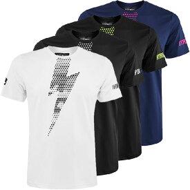 [海外サイズ]ハイドロゲン(HYDROGEN) 2020 メンズ テック サンダーボルト Tシャツ T00204(20y3mテニス)[次回使えるクーポンプレゼント]