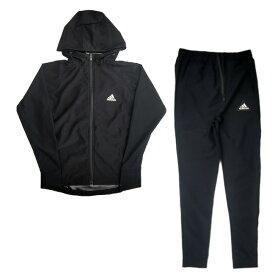 [上下セット][日本サイズ]アディダス(adidas) メンズ サウナスーツ フーディ&パンツセット 上下組 ADISS04-ブラック(20y4m)[次回使えるクーポンプレゼント]