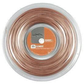 ルキシロン エレメント(1.25mm/1.30mm) 200Mロール 硬式テニス ポリエステル ガット(Luxilon Element 200m String Reel)WRZ990106(15y11m)[次回使えるクーポンプレゼント]