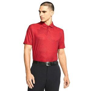[タイガーウッズ][USサイズ]ナイキ(NIKE) 2020 メンズ DRI-FIT TW カモフラ柄ポロシャツ CT3801-687 ジムレッド(20y6mゴルフ)[次回使えるクーポンプレゼント]