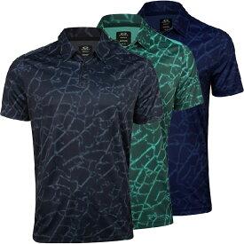[USサイズ]オークリー(Oakley) メンズ ブロークングラス ポロシャツ FOA400131(20y6mゴルフ)[次回使えるクーポンプレゼント]