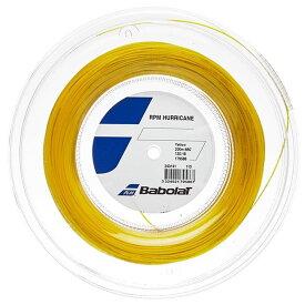 バボラ(Babolat) 2020 RPM ハリケーン (120/125/130/135) 200Mロール 硬式テニス ポリエステル ガット 243141-113 イエロー(20y7m)[次回使えるクーポンプレゼント]