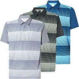 [USサイズ]オークリー(Oakley) メンズ ドットストライプ 半袖ポロシャツ FOA400133(20y6mゴルフ)[次回使えるクーポンプレゼント]