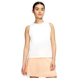 在庫処分特価】[USサイズ]ナイキ(NIKE) 2020 レディース フレックスエース ノースリーブシャツ CI9824-100 ホワイト(20y6mゴルフ)[次回使えるクーポンプレゼント]