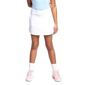 在庫処分特価】ナイキ(NIKE) 2020 ジュニア(ガールズ) DRI-FIT スカート AJ5287-100 ホワイト(20y6mゴルフ)[次回使えるクーポンプレゼント]
