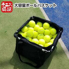 テニス馬鹿 ボールバスケット ボールバッグ ボールカゴ キャスター無しバージョン (20y7m)[次回使えるクーポンプレゼント]