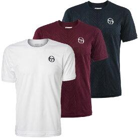 [USサイズ]セルジオ タッキーニ(SergioTacchini) メンズ シェブロン 半袖Tシャツ 38494(20y8mテニス)[次回使えるクーポンプレゼント]