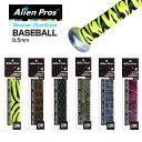 [バット用ウェット1本入]Alien Pros(エイリアン プロス) デザイナー 野球/ソフトボール オーバー グリップテープ 0.5…