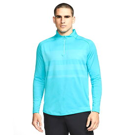 [USサイズ]ナイキ(NIKE) 2020 メンズ DRI-FIT ヴェイパー ハーフジップ長袖シャツ BV0390-486 ブルーフューリー(20y8mゴルフ)[次回使えるクーポンプレゼント]