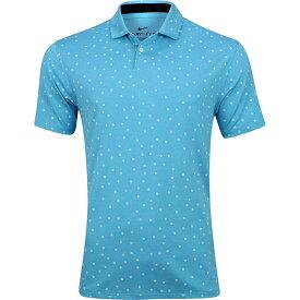 [USサイズ]ナイキ(NIKE) 2020 メンズ DRI-FIT ヴェイパー プリント半袖ポロシャツ CI9784-486 ブルーフューリー(20y8mゴルフ)[次回使えるクーポンプレゼント]