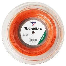 [スカッシュ用ガット]テクニファイバー(Tecnifibre) エックスワンバイフェイズ 18(1.18mm) 200Mロール マルチフィラメントガット 06RXON1180-オレンジ(20y10m)[次回使えるクーポンプレゼント]