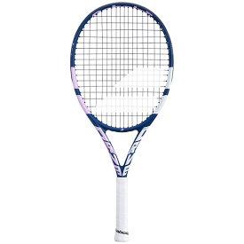 [100%グラファイト素材]バボラ(Babolat) ピュアドライブ Jr 25(240g) 2021 海外正規品 硬式テニスジュニアラケット 140422/140436-348 bluepink(20y10m)[NC][次回使えるクーポンプレゼント]