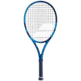 [100%グラファイト素材]バボラ(Babolat) ピュアドライブ ジュニア26(250g) 2021 海外正規品 硬式テニスジュニアラケット 140418/140433-136 ブルー(20y10m)[NC][次回使えるクーポンプレゼント]